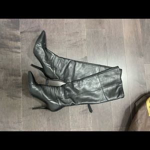 Beautiful real leather high boots